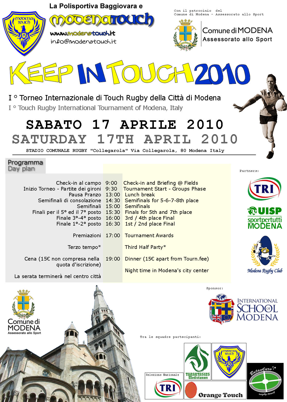 flyer_keep in touch 2010